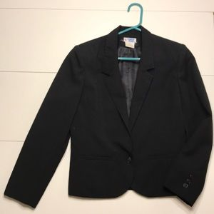 College Town Black blazer